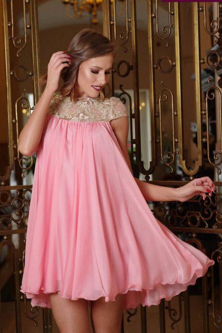 Veronique Pink Dress