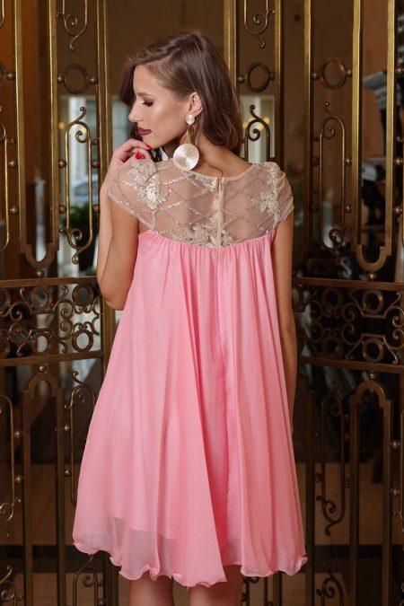 Veronique Ροζ Φόρεμα 2345