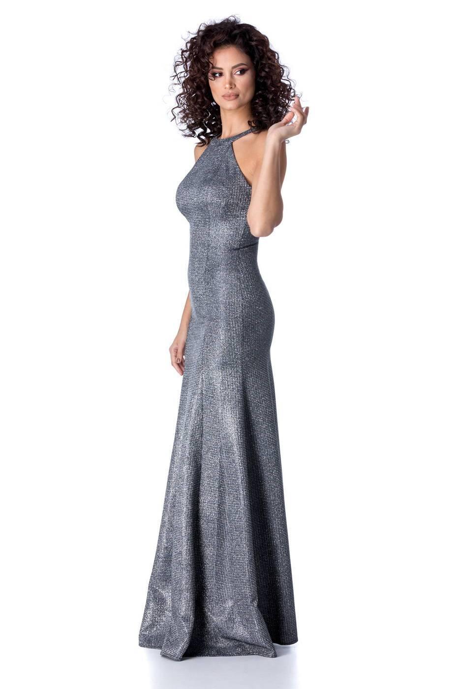 Valore Ασημί Φόρεμα 2257