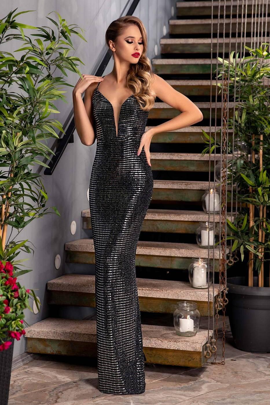 Luxe Silver Dress