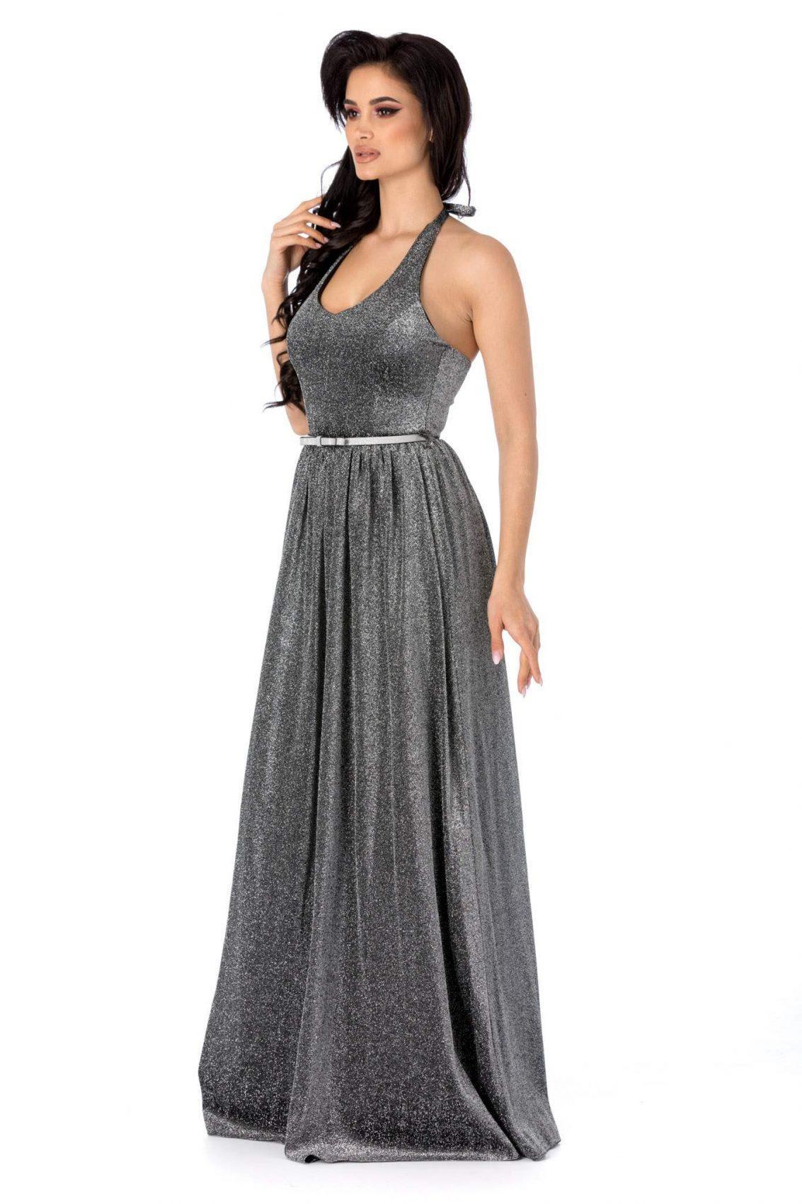 Calypso Ασημί Φόρεμα 3136