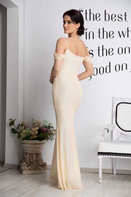 Cherish Κίτρινο Φόρεμα 2105