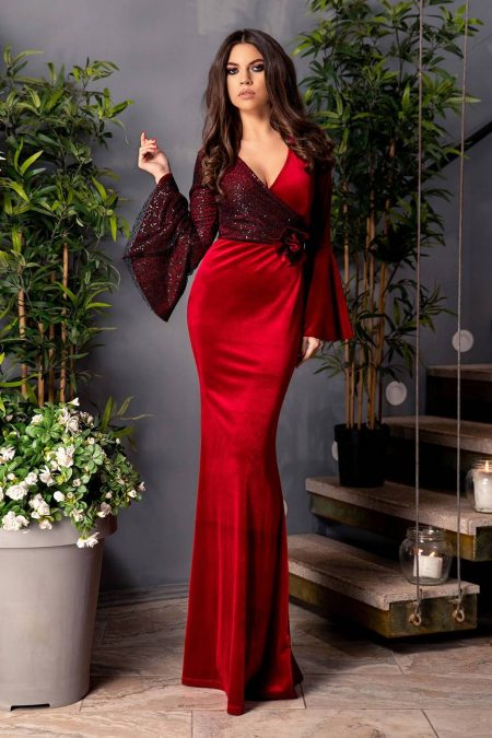 Love Marsala Dress