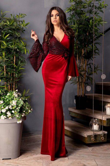Love Marsala Dress