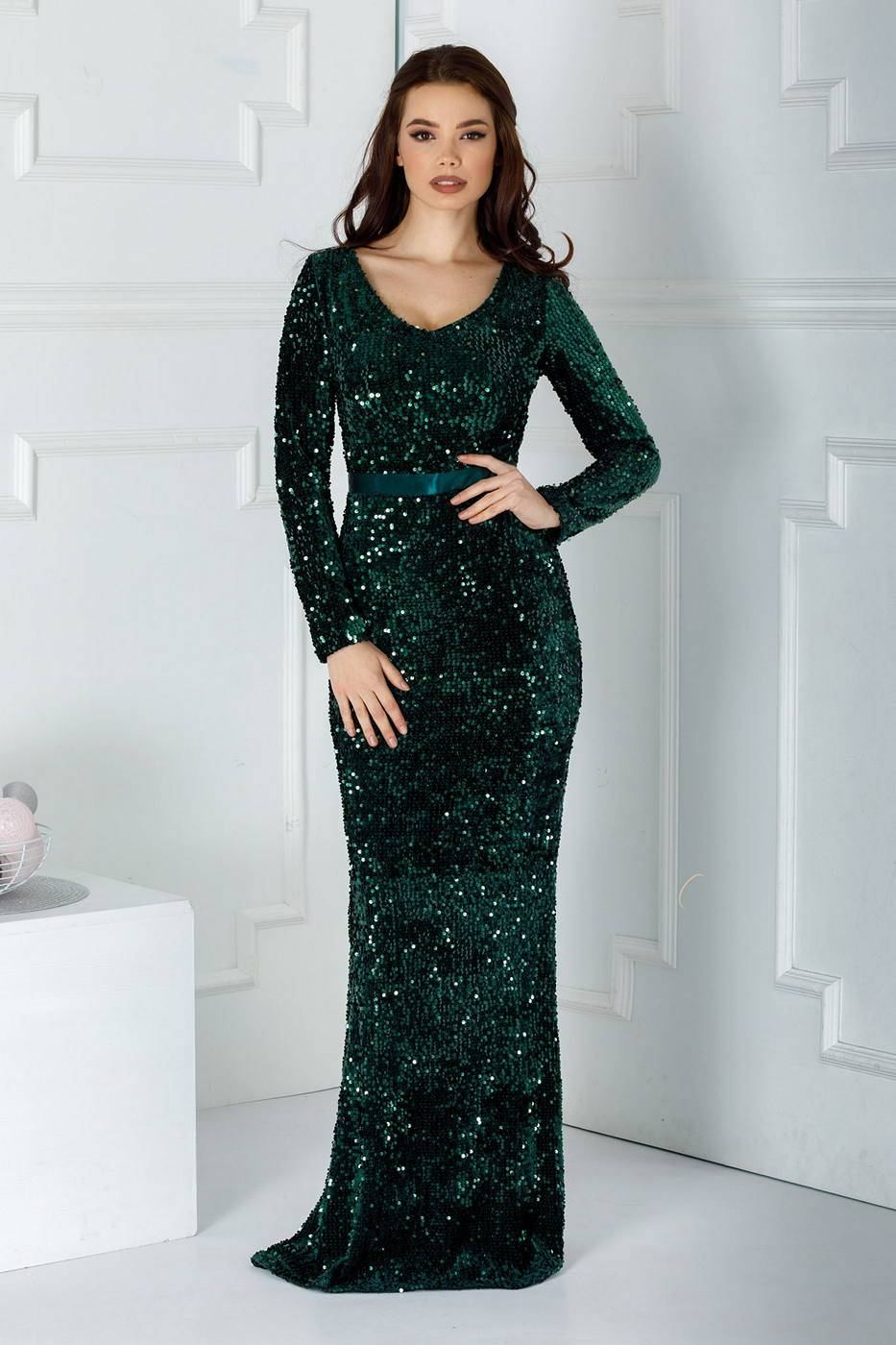 Sparkle Green Dress