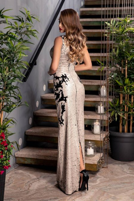 Amore Bicolored Φόρεμα 1849