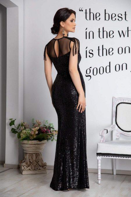 Terra Μαύρο Φόρεμα 4542