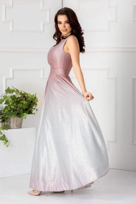 Saphire Ροζ Φόρεμα 1770