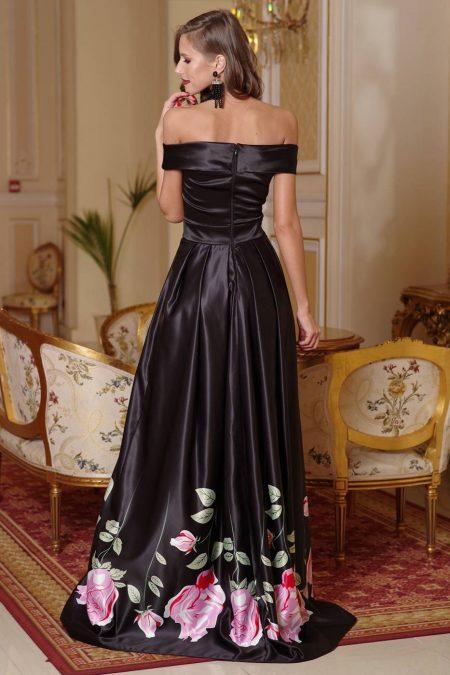 Diosa Μαύρο Φόρεμα 4384