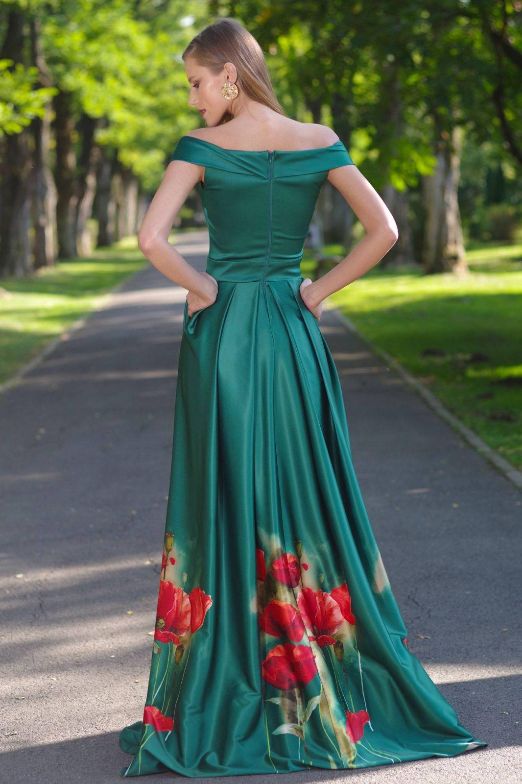 DeLuxe Πράσινο Φόρεμα 1400