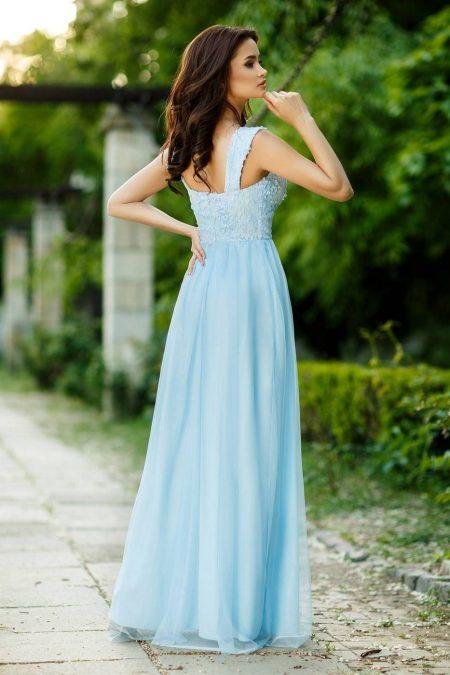 Felicia Γαλάζιο Φόρεμα 4380