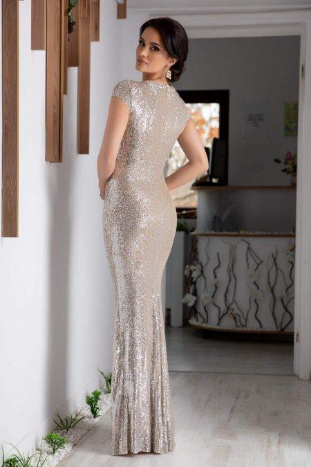 Madelyn Nude Φόρεμα 2109