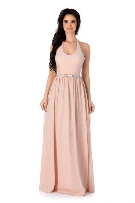 Calypso Peach Dress