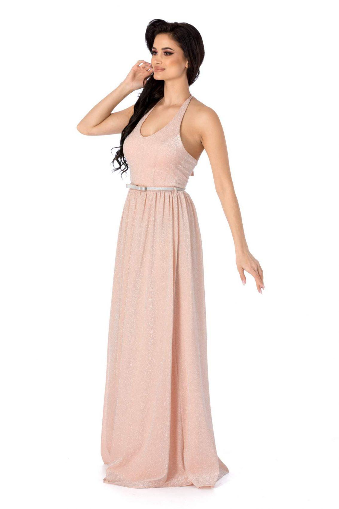 Calypso Ροζ Φόρεμα 3135