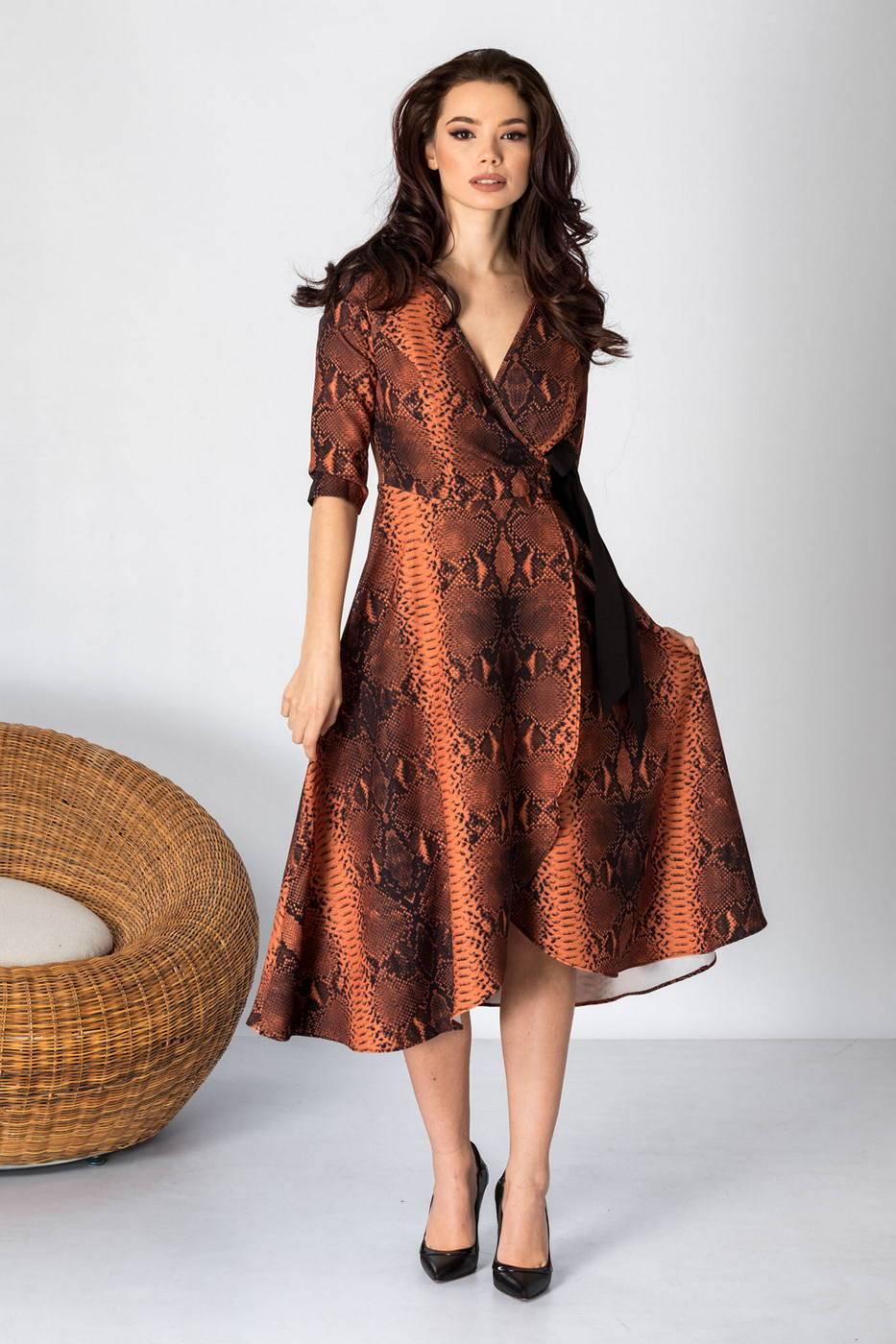 Loreen Animal Print Dress