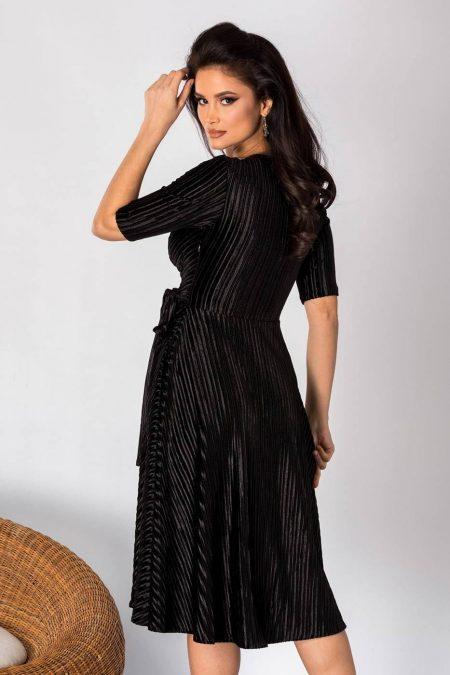 Noelia Μαύρο Φόρεμα 1866