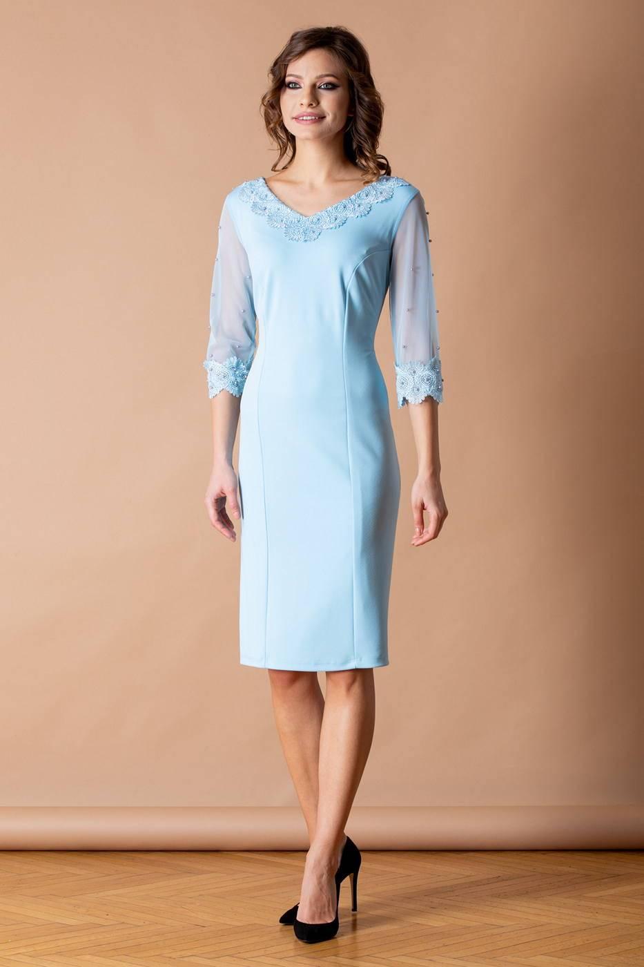 Ronny Γαλάζιο Φόρεμα 2235