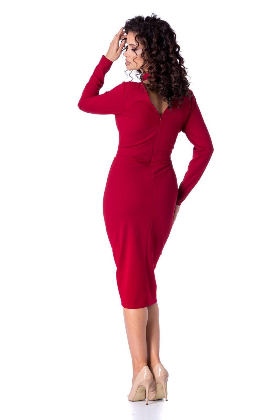 Marynna Μπορντό Φόρεμα 1211