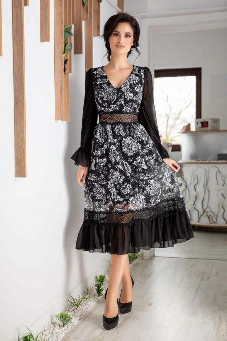 Kathy Bicolore Dress