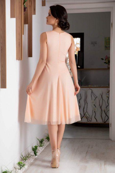 Rosalinda Ροζ φόρεμα 2103