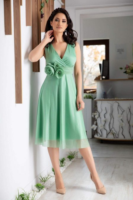 Rosalinda Mint Dress