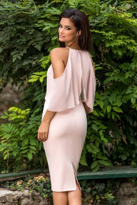 Rowena Ροζ Φόρεμα 2277