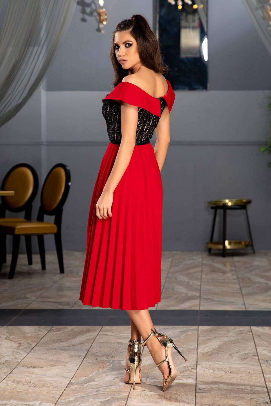 Xandra Κόκκινο Φόρεμα 1335