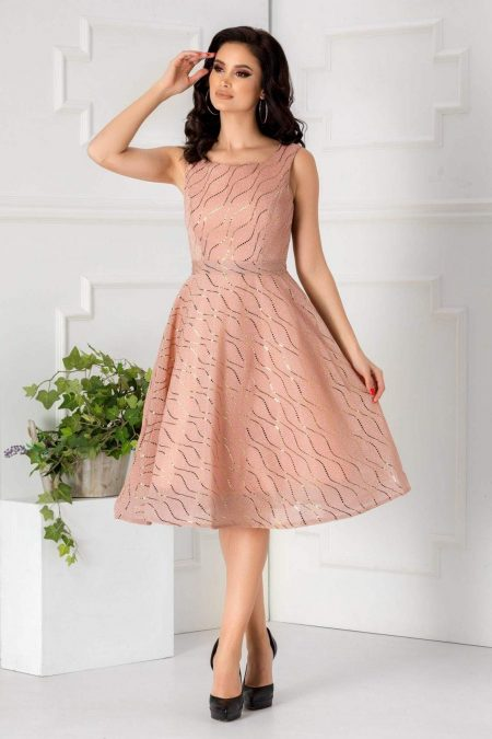 Aliss Pink Dress