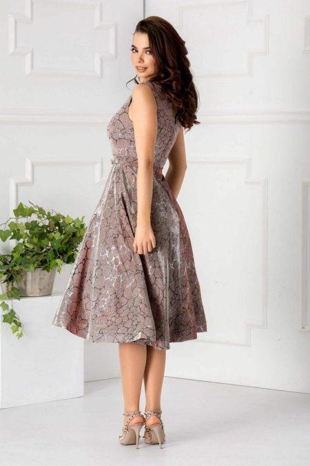 Sweet Ροζ Φόρεμα 1778