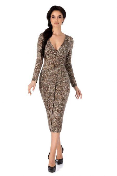 Affair Animal Print Dress