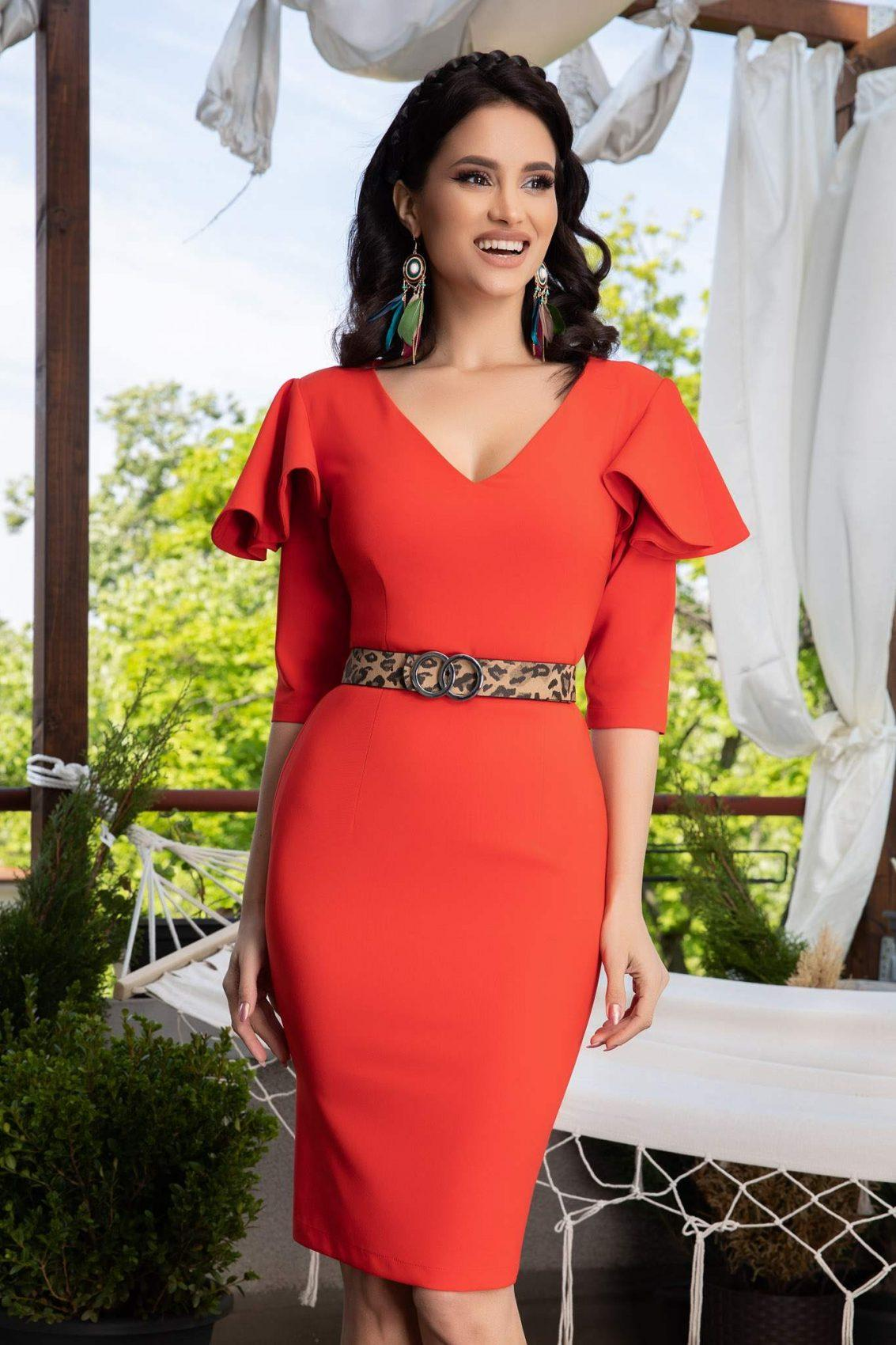 La Donna Kerry Coral Dress