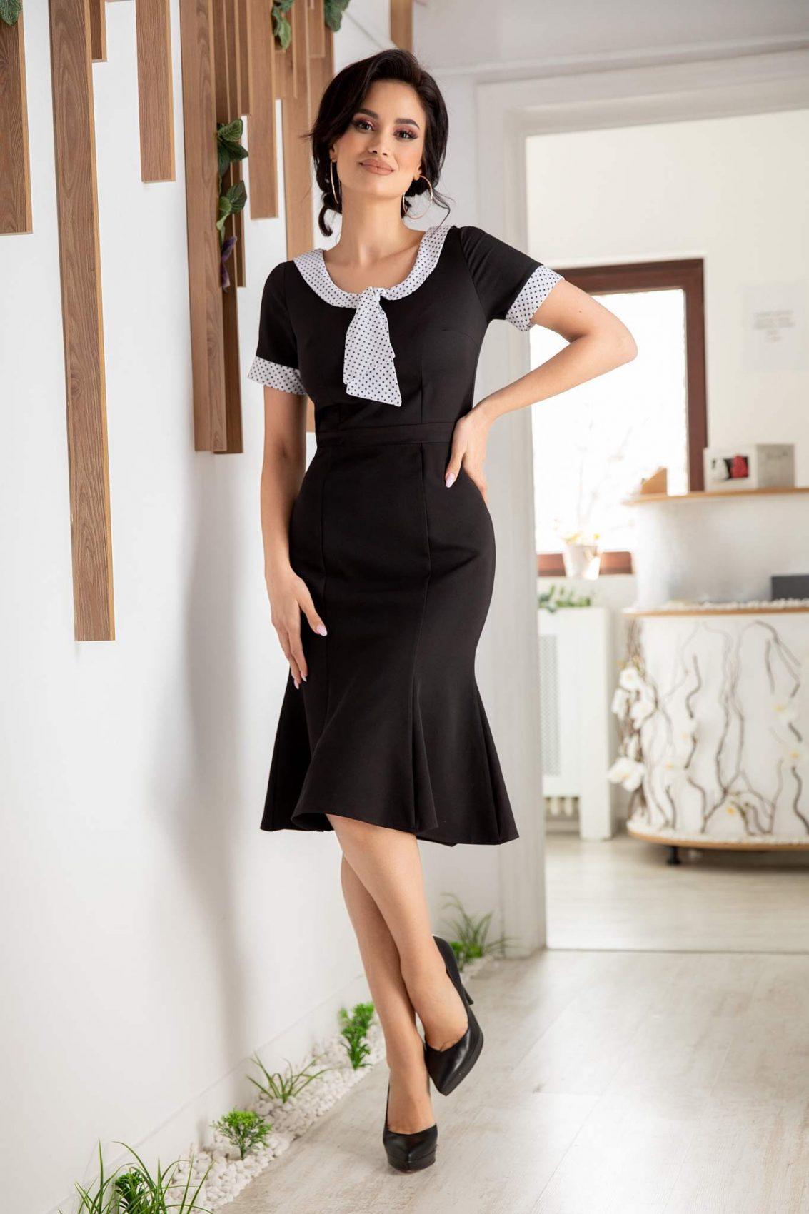 Amaris Μαύρο Φόρεμα 1743