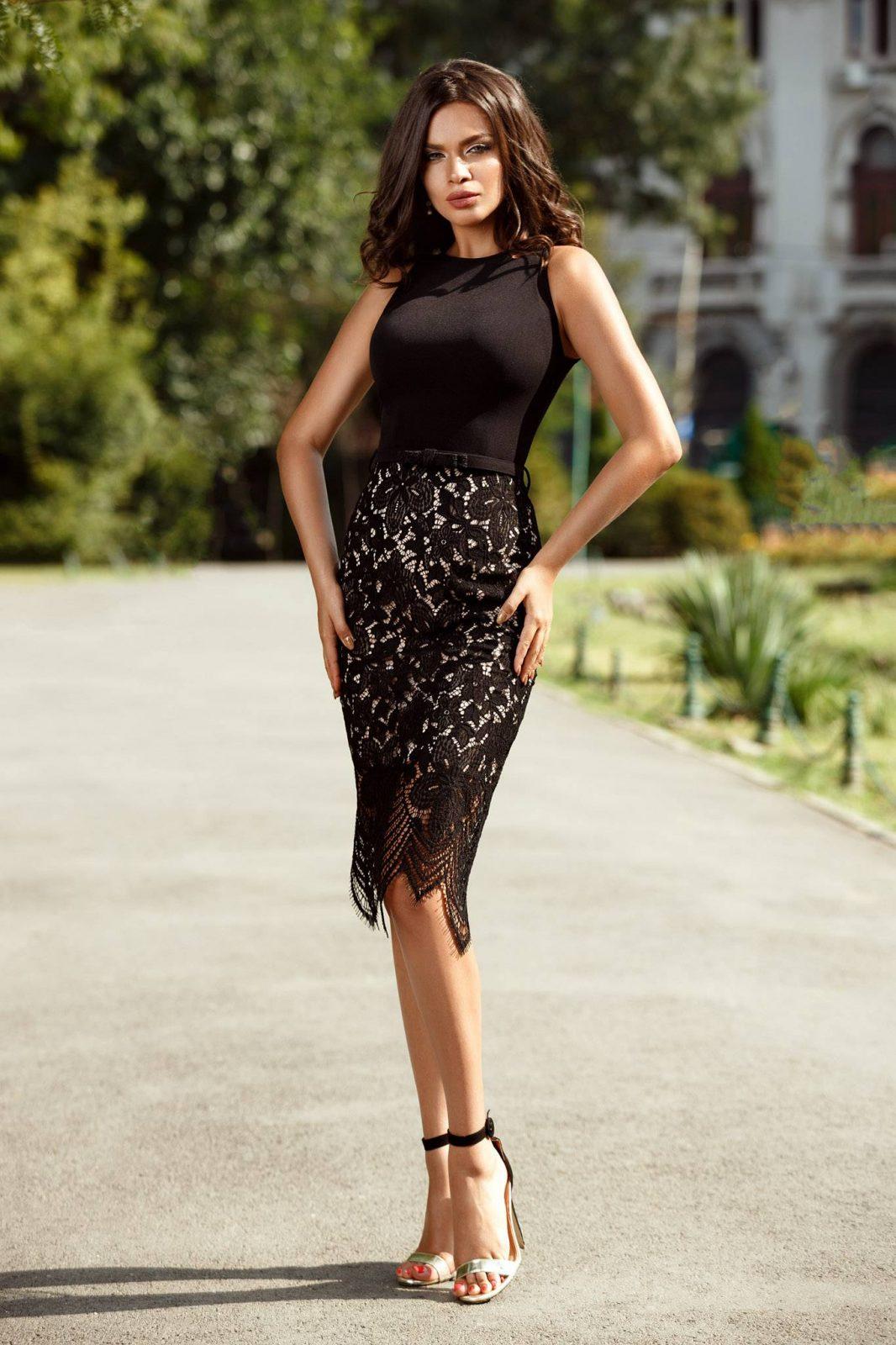 Fancy Black Dress