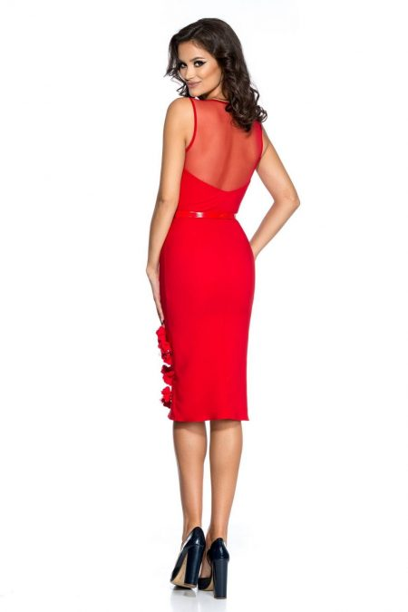 Adore Κόκκινο Φόρεμα 2388