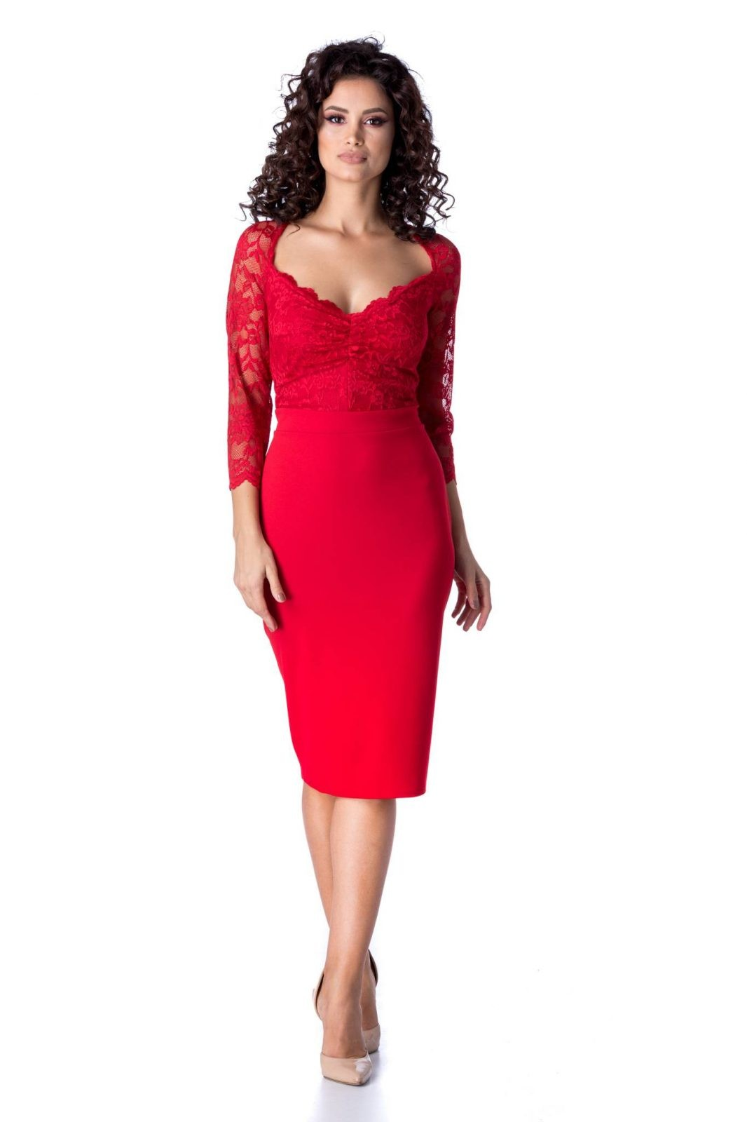 Norra Κόκκινο Φόρεμα 2255
