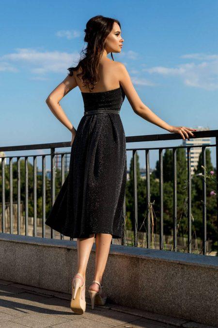 Selena Μαύρο Φόρεμα 2341