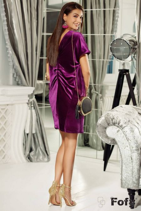 Aline Purple Dress