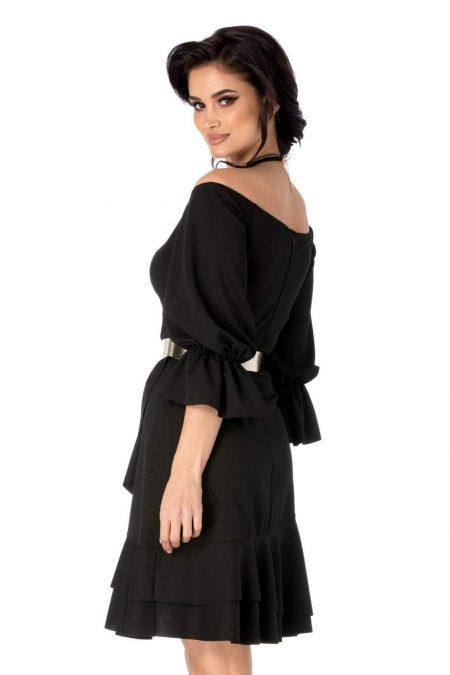 Iasmina Μαύρο Φόρεμα 1753