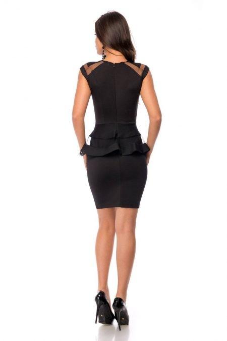 Silvie Μαύρο Φόρεμα 1491