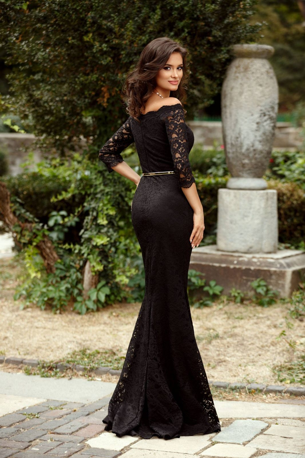 Indilla Μαύρο Φόρεμα 2365