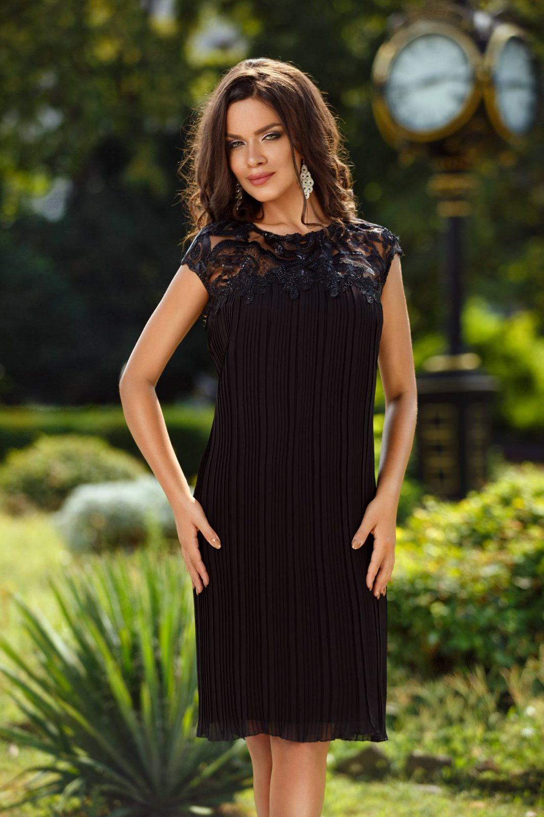 Nina Black Dress