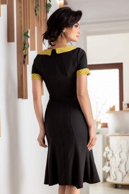 Glennis Μαύρο Φόρεμα 1205