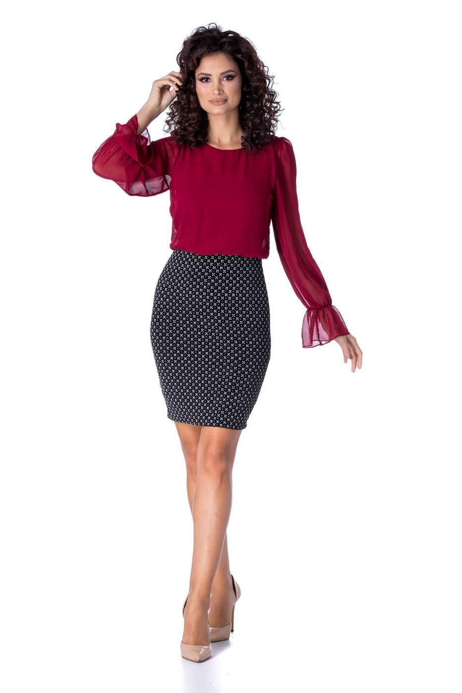 Heather Bicolore Dress