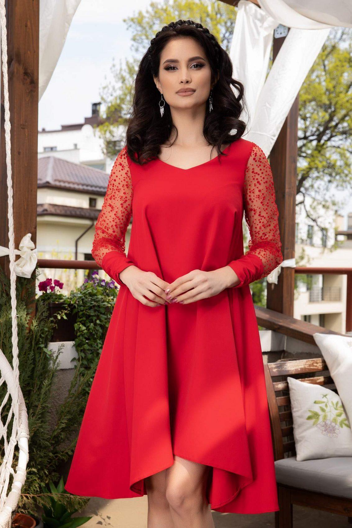 Mina Red Dress