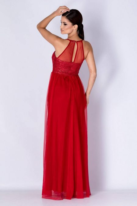 Yrene  Κόκκινο Φόρεμα 4378