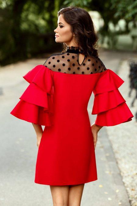 Valerie Κόκκινο Φόρεμα 2372