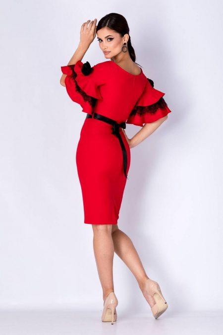 Callia Κόκκινο Φόρεμα 1368