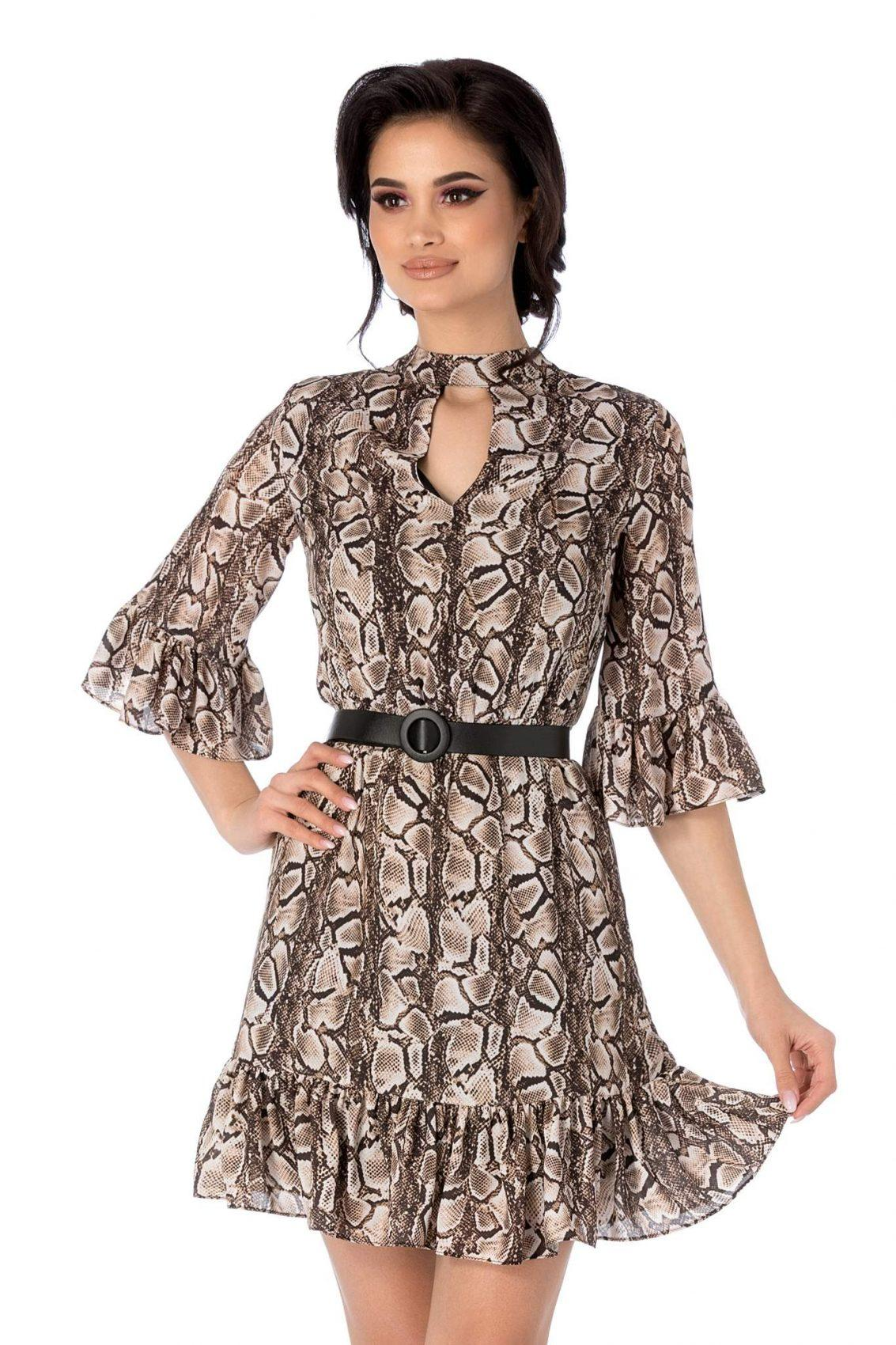 Renate Animal Print Φόρεμα 2158