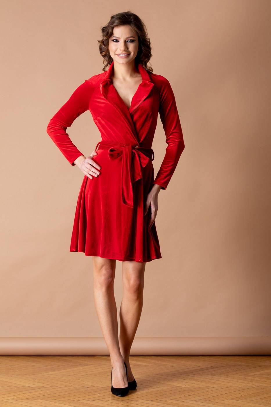 Alessia Κόκκινο Φόρεμα 4531