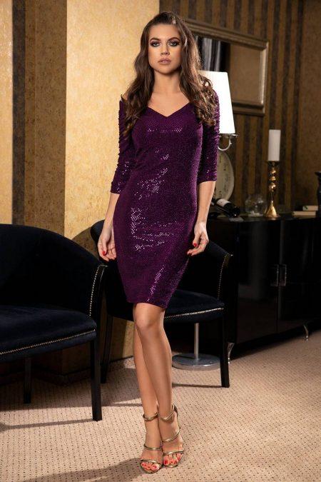 Emilly Violet Dress